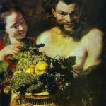 411px-Jacob_Jordaens-_Satyr_and_Girl_with_a_Basket_of_Fruit